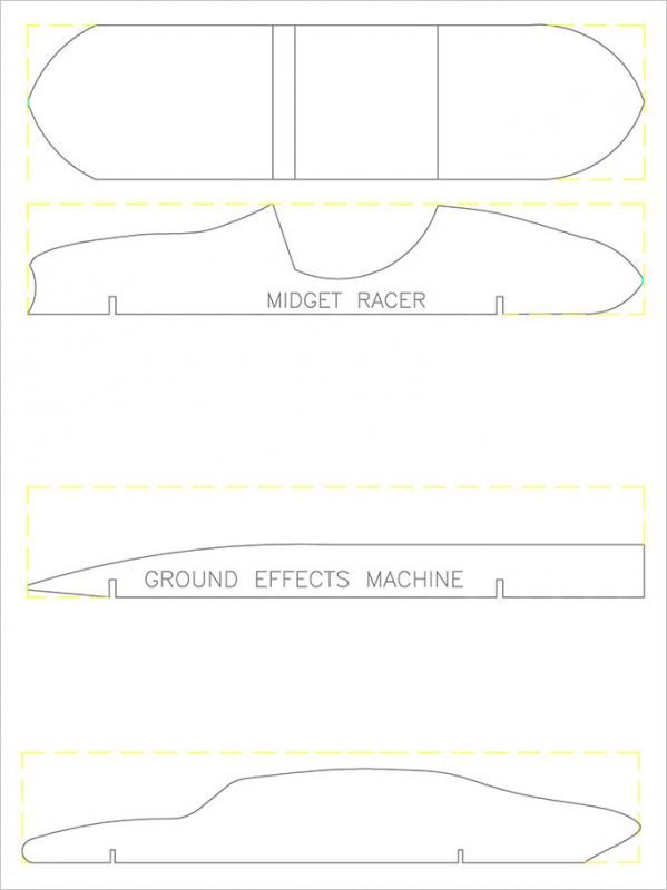 Pinewood Derby Car Templates Pinewood Derby Templates