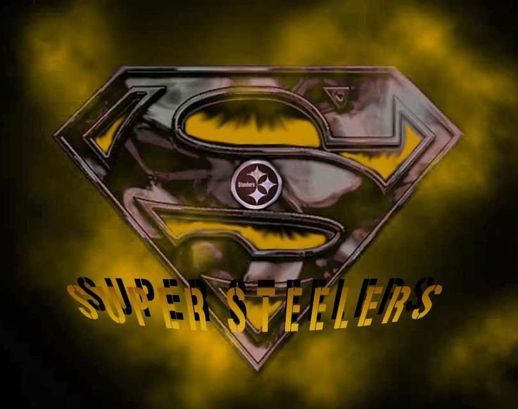 Pittsburgh Steelers Superman Logo 17 Best Images About Steelers Fan Art On Pinterest