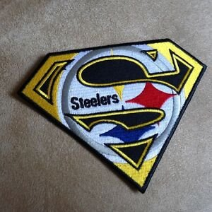 5 034 Pittsburgh Steelers Superman Logo NFL Football Team