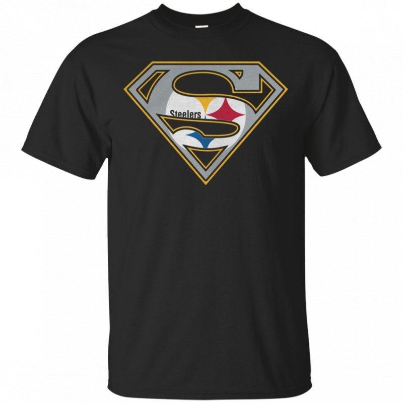 Pittsburgh Steelers Superman Logo Pittsburgh Steelers Superman Logo T Shirt – Pipertee