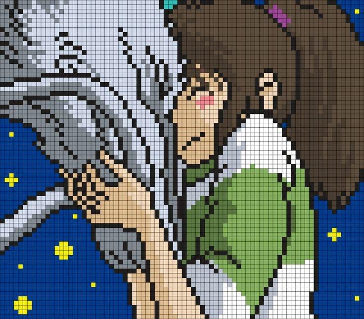Pixel Art Grid Anime 1000 Ideas About Pixel Art Grid On Pinterest