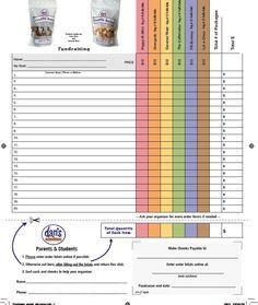 Pizza order form Template 1000 Images About Fundraiser Sheet On Pinterest