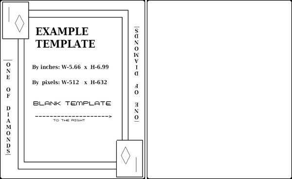 Playing Card Size Template Playing Cards Template Example by Aiagkikai On Deviantart