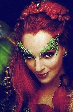 Poison Ivy Eye Mask Template How to Make Uma Thurman S Famous Poison Ivy Eyebrows