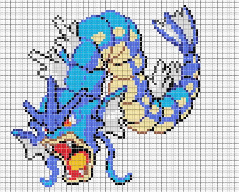 Pokemon Pixel Art Grid Pokemonis On Pinterest