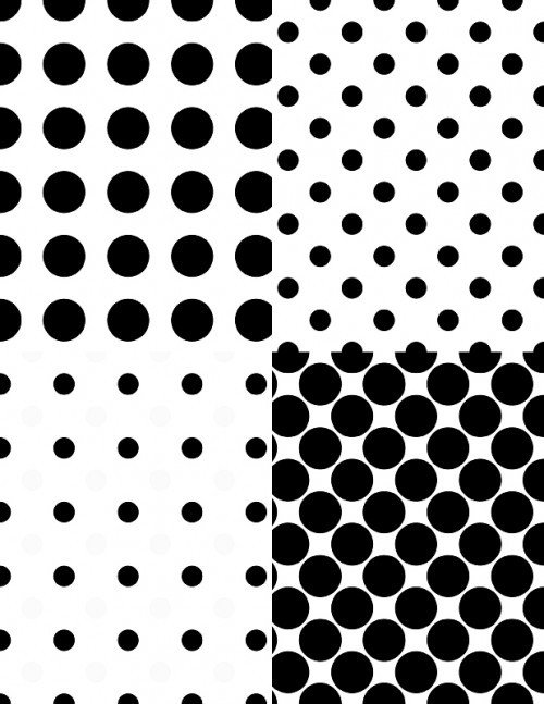 Polka Dot Brush Photoshop 19 Simple and Unique Polka Dot Patterns for Shop