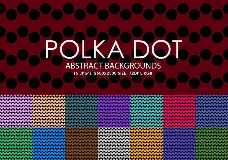 Polka Dot Brush Photoshop Free Polka Dot Backgrounds Texture Shop Brushes