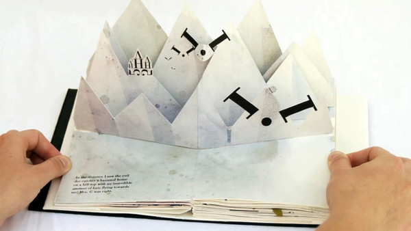 Pop Up Book Template Bodoni Bedlam Alphabet Book Mr Printables