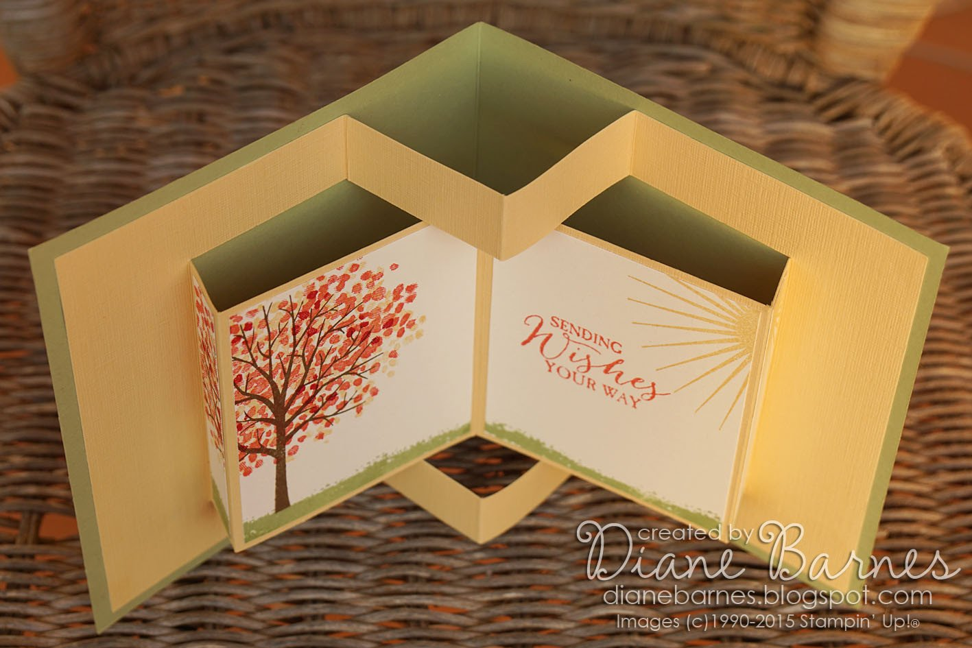 Pop Up Book Template Colour Me Happy Sheltering Tree Pop Up Book Card & Template