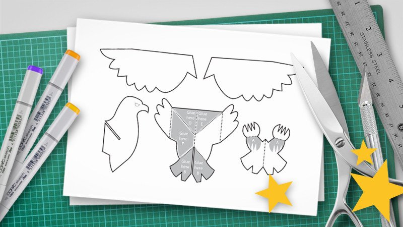 Pop Up Book Template How to Make A Pop Up Print Ready Pdf Pop Up Templates
