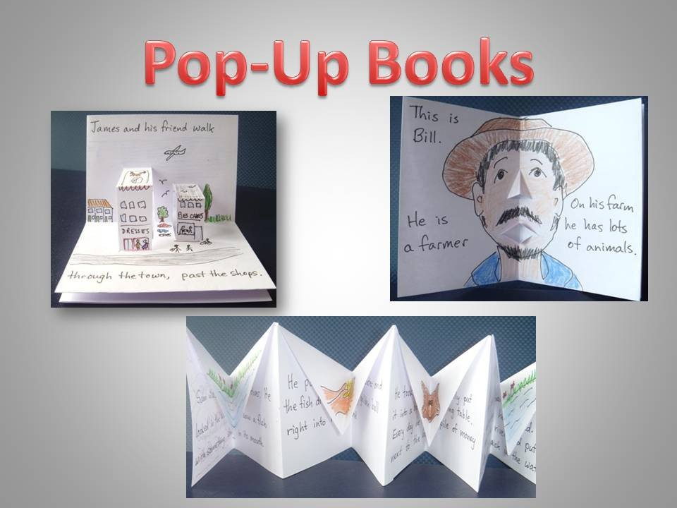 Pop Up Book Template Little Books Pop Up Book A Collection Of Tesl Resources