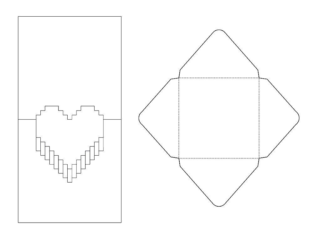 Pop Up Cards Templates Pop Up Valentine