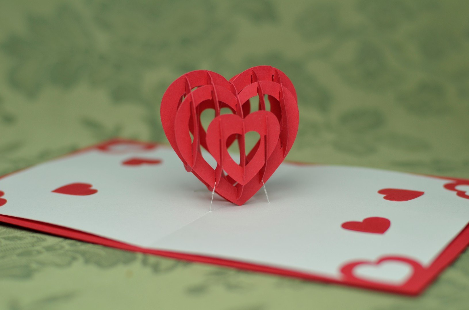 Pop Up Cards Templates Valentine S Day Pop Up Card 3d Heart Tutorial Creative