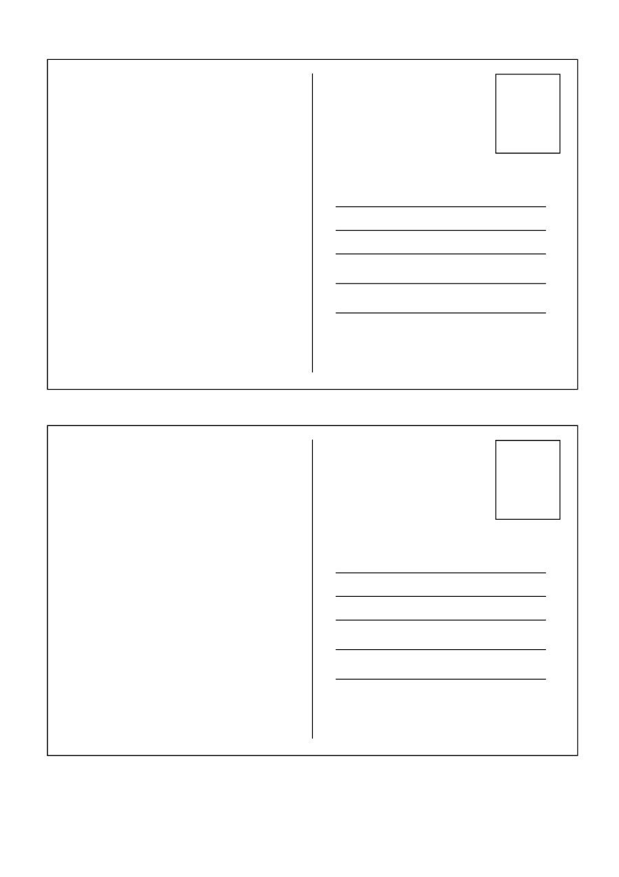 40 Great Postcard Templates & Designs [Word PDF]