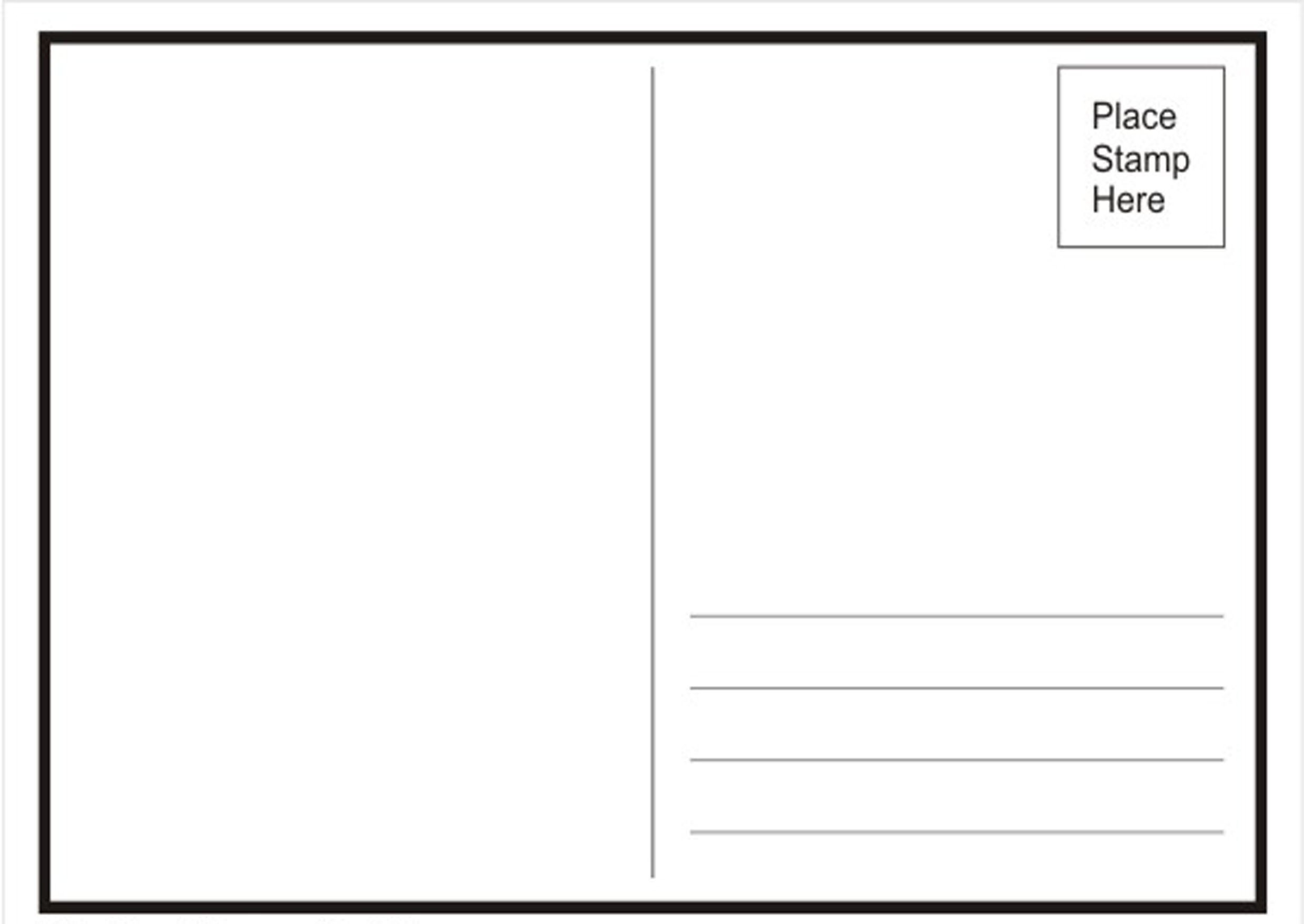 Postcard Templates for Word Alg Research Lorenashleigh