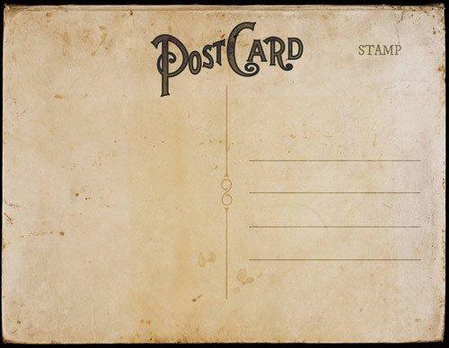 Postcard Templates for Word Vintage Postal Charm