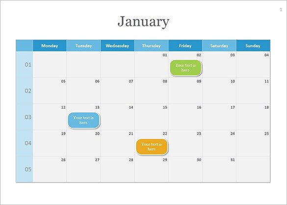 Power Point Calendar Templates Calendar Template 41 Free Printable Word Excel Pdf