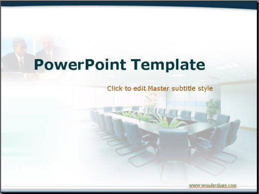 Ppt Presentation Template Free Free Conference Powerpoint Templates Wondershare Ppt2flash