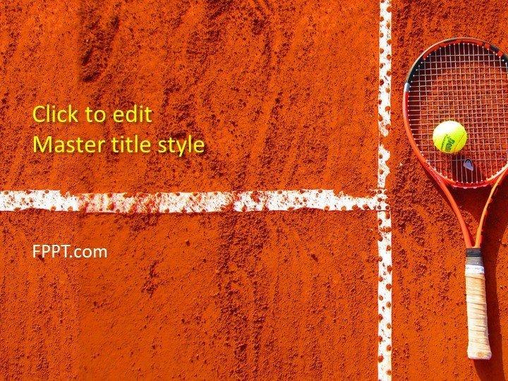 Ppt Presentation Template Free Free Tennis Powerpoint Template Free Powerpoint Templates