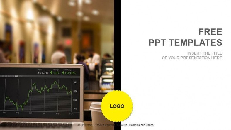 Ppt Presentation Template Free Stock Market Rates Finance Ppt Templates Download Free
