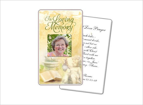Prayer Card Template Free 16 Obituary Card Templates Free Printable Word Excel