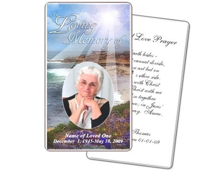 Prayer Card Template Free Best 25 Funeral Prayers Ideas On Pinterest