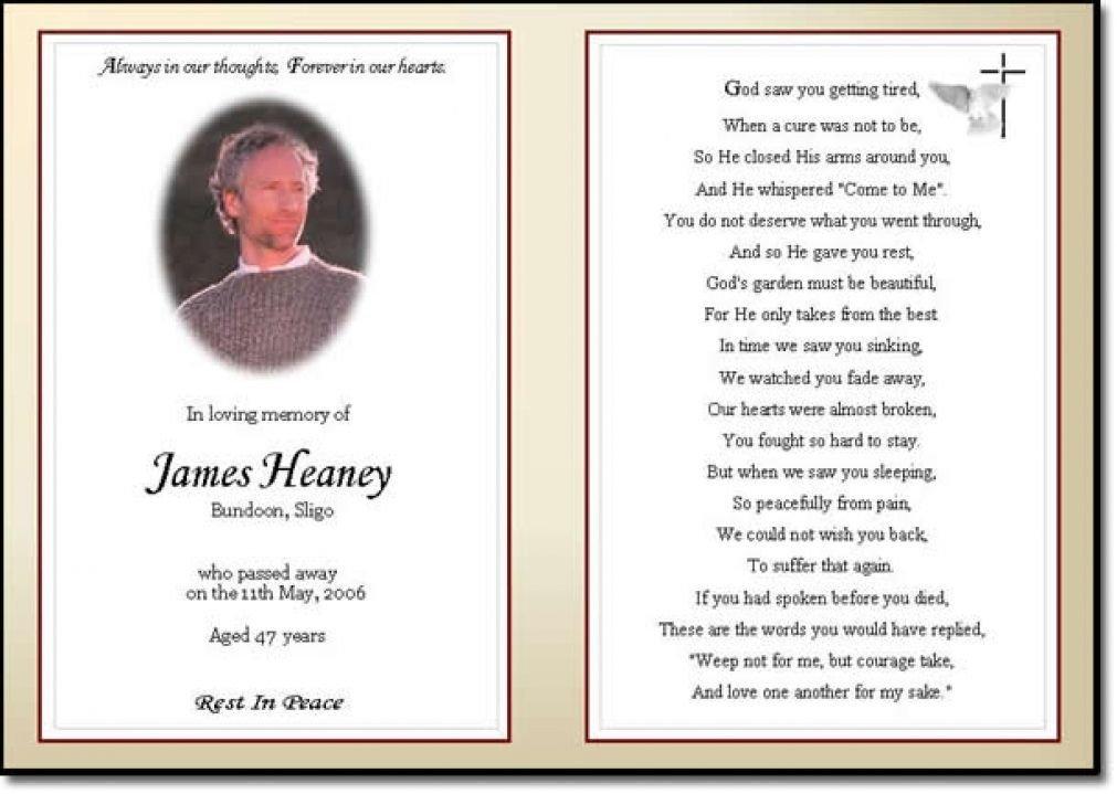 Prayer Card Template Free Business Card Word Template Funeral Prayer Card Template