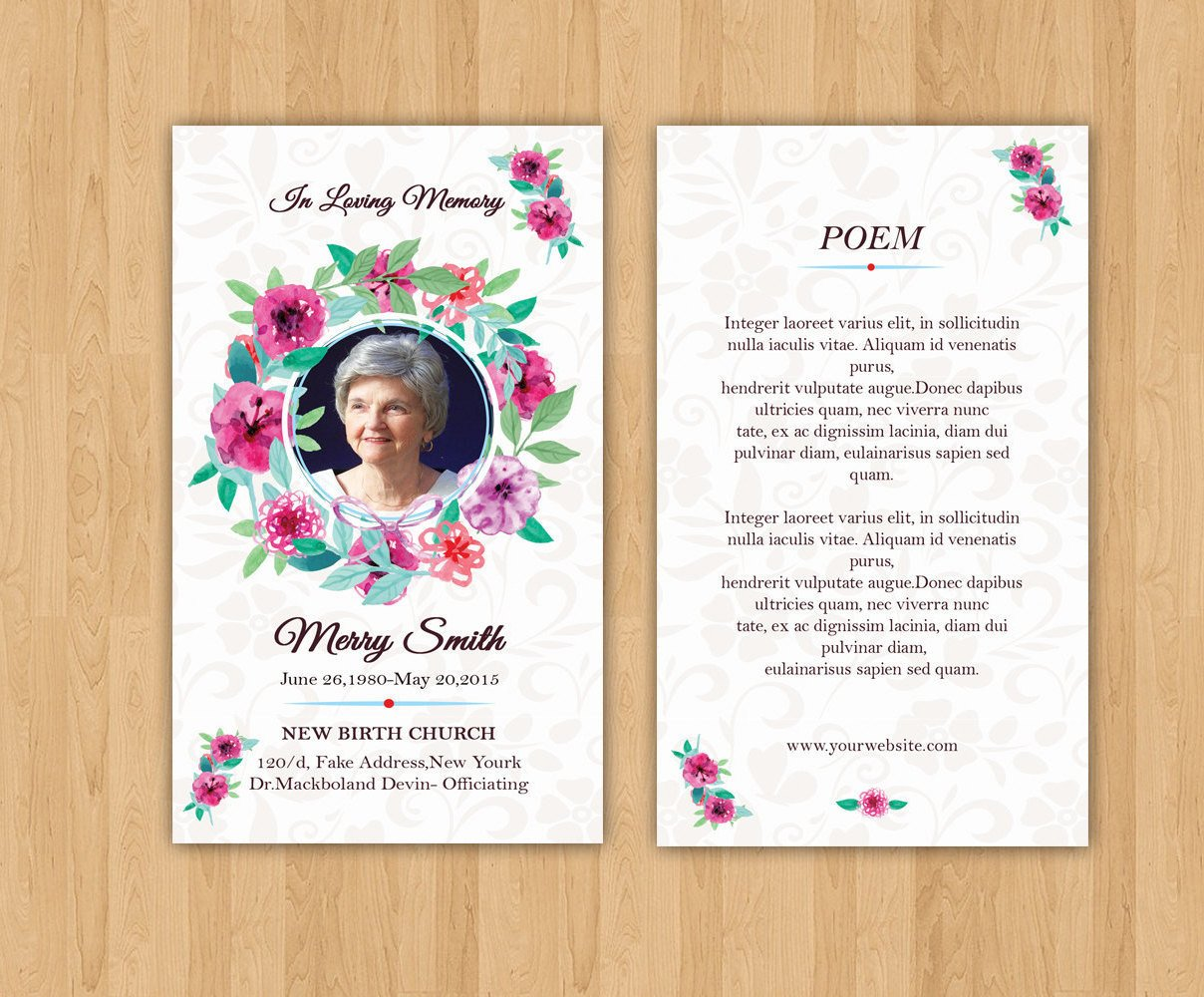 Prayer Card Template Free Funeral Prayer Card Template Editable Ms Word & Shop