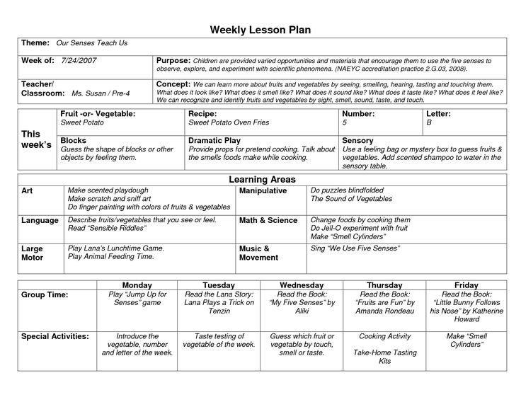 Pre K Lesson Plan Template Best 25 Preschool Lesson Template Ideas On Pinterest