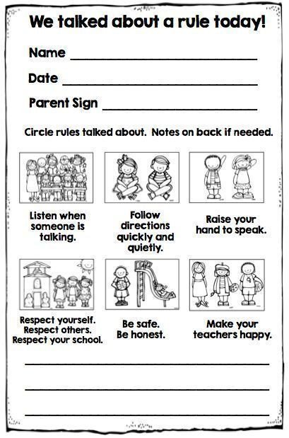 Preschool Behavior Chart Template Best 25 Behavior Chart Preschool Ideas On Pinterest