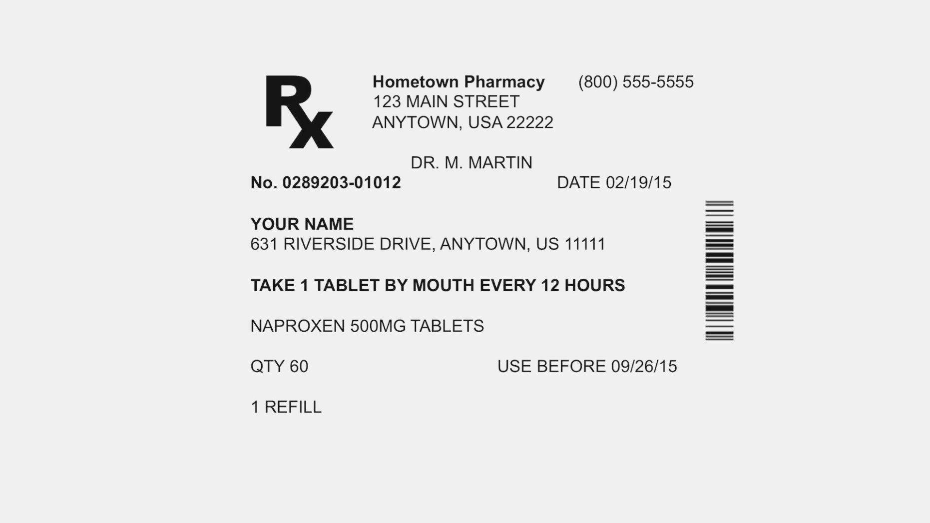 Prescription Bottle Label Generator 10 top Risks Pill Bottle Label Maker