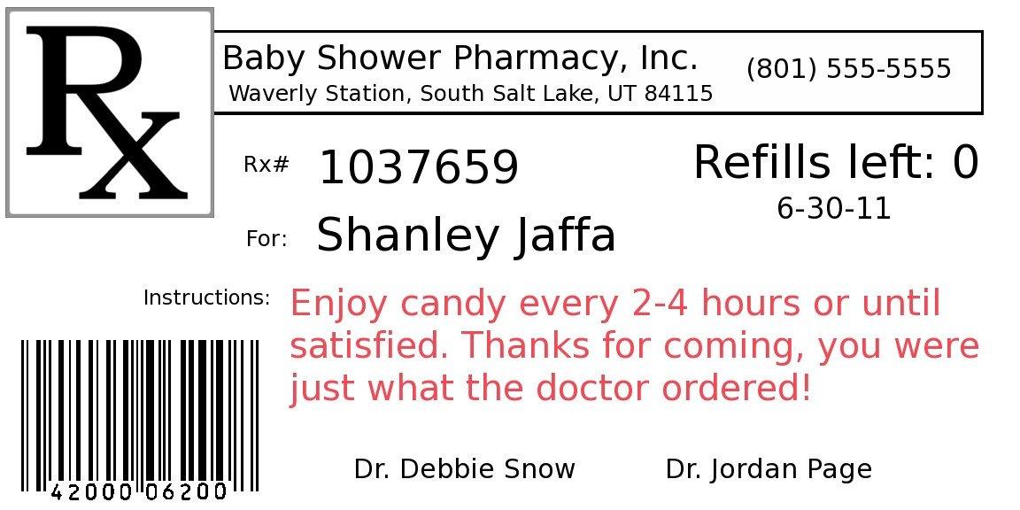 Prescription Bottle Label Generator Diy Project Pill Bottle Party Favors Fun Cheap or Free