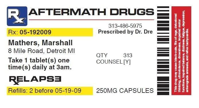 Prescription Bottle Label Generator Pill Bottle Label