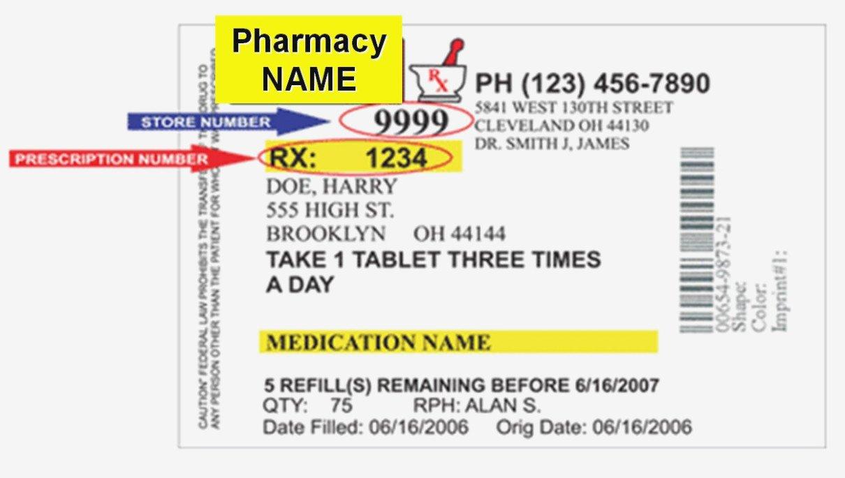 Prescription Bottle Label Generator the Modern Rules