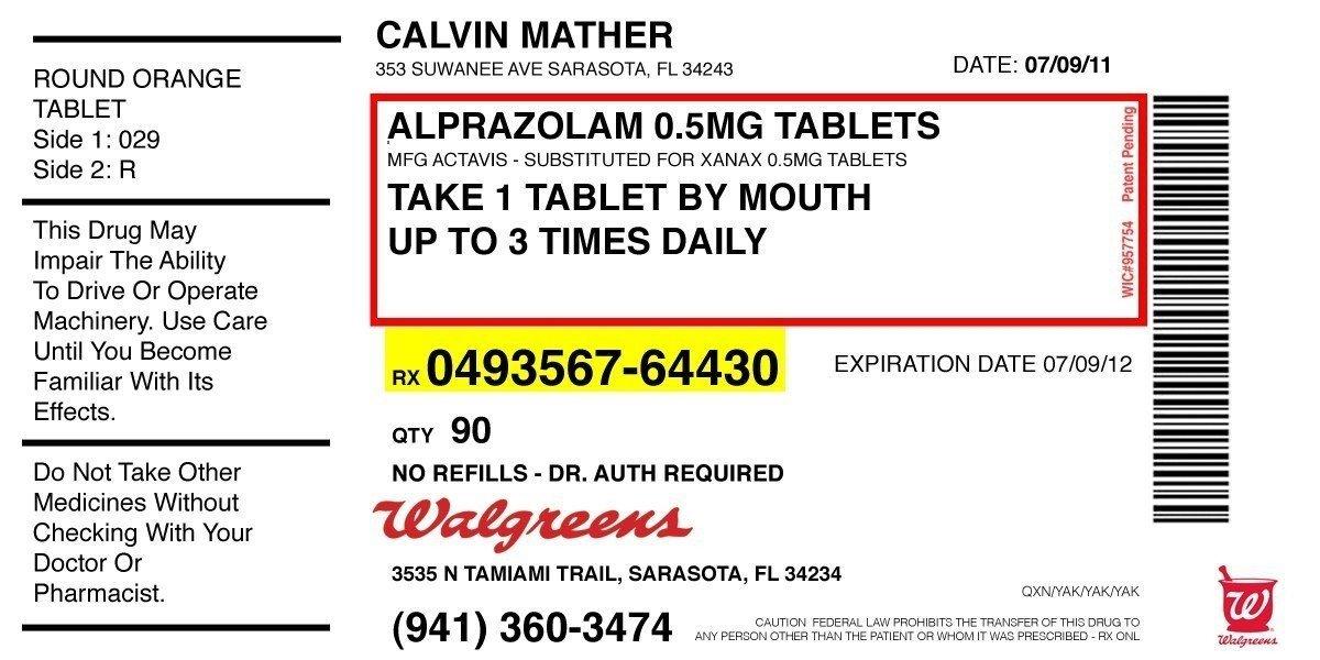 Prescription Template Microsoft Word Prescription Label Template Microsoft Word