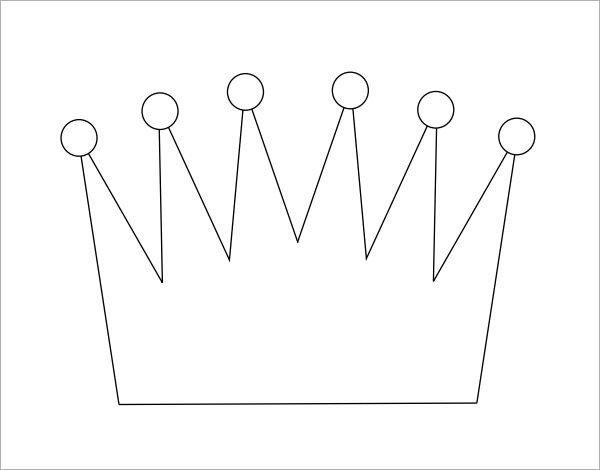 Princess Crown Cut Out 11 Crown Samples Pdf
