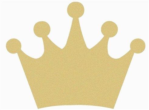 "Princess Crown Cut Out 12"" Princess Crown Cutout"