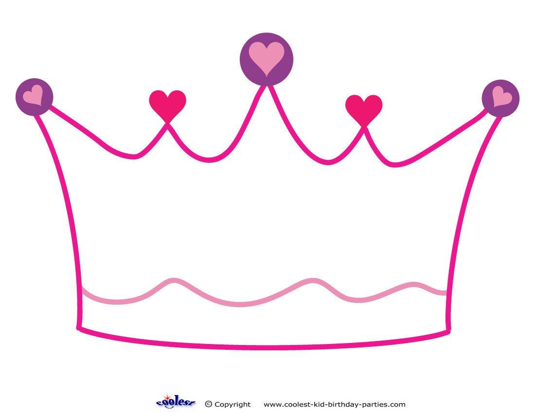 Princess Crown Cut Out Crown Cut Out Clipart Best
