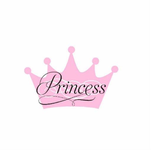 Princess Crown Cut Out Crown Princess Cut Out