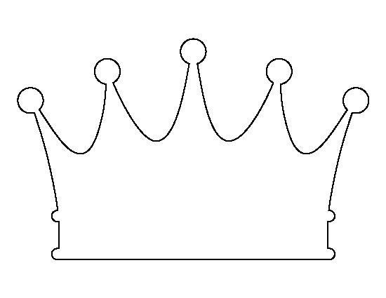 Princess Crown Cut Out Pin by Muse Printables On Printable Patterns at