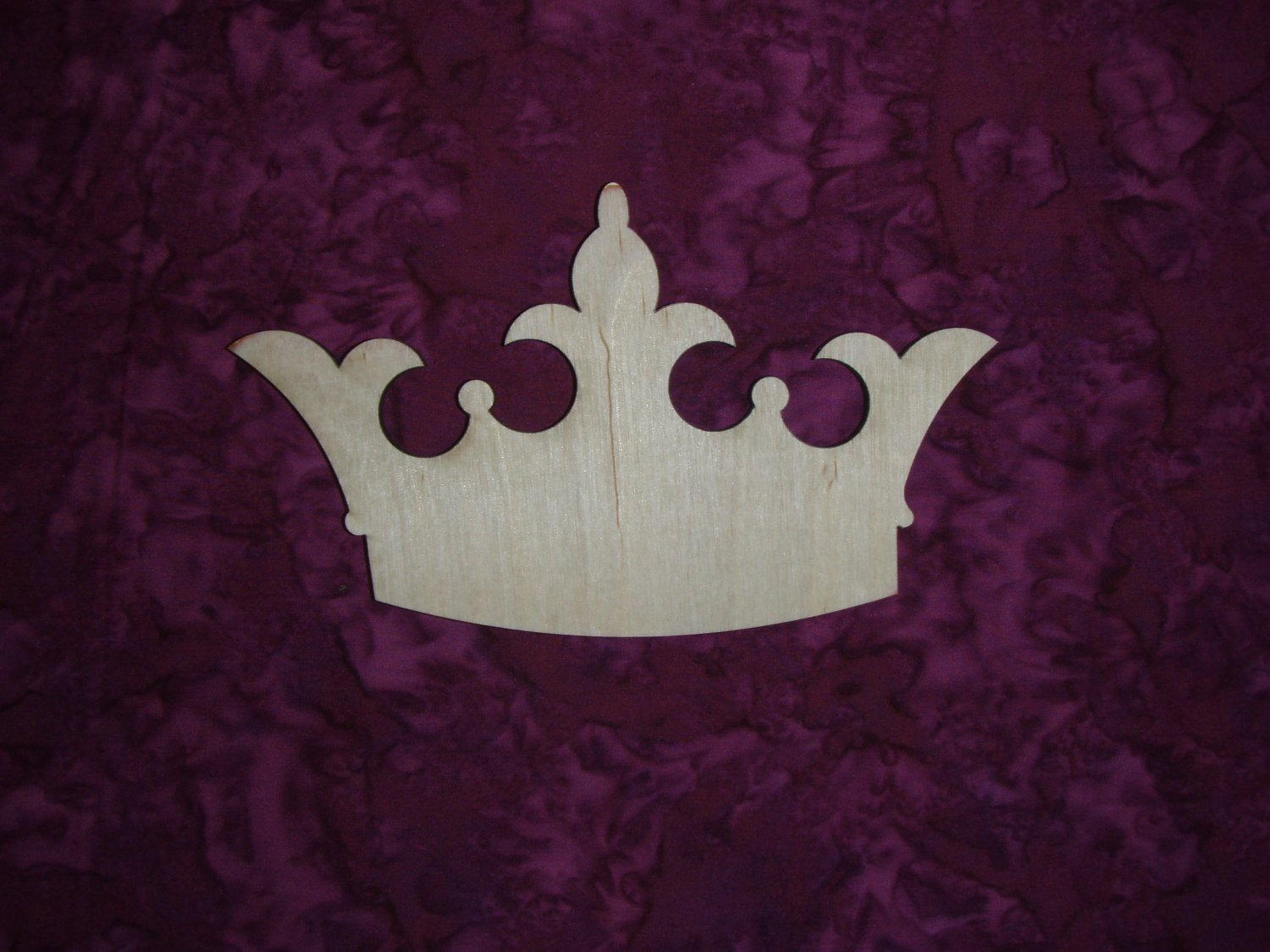 Princess Crown Cut Out Princess Crown Unfinished Wood Cut Out by Artisticcraftsupply
