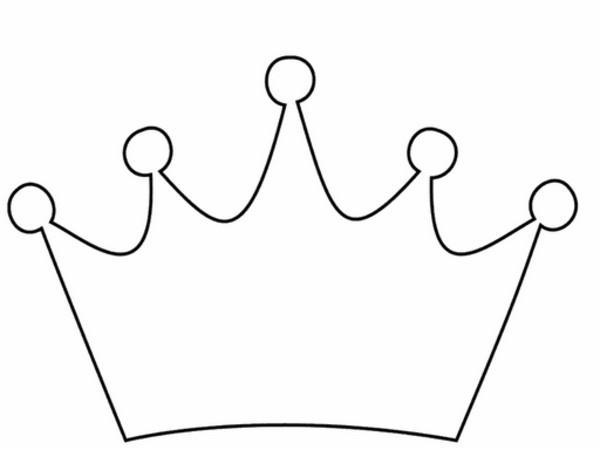 Princess Crown Cut Out Princess Tiara Template Clipart Best