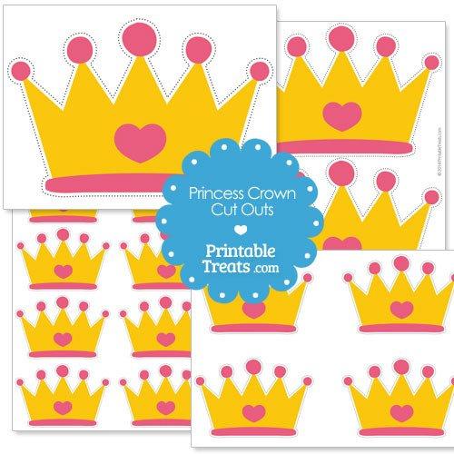 Princess Crown Cut Out Printable Cut Out Princess Crown — Printable Treats