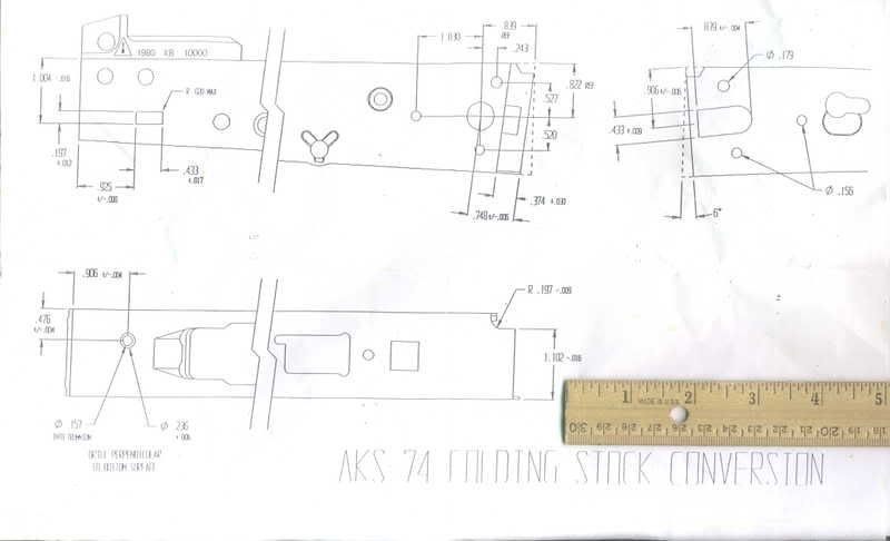Printable Ak 47 Receiver Template Ak Receiver Template Pdf Lily & Rue