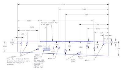 Printable Ak 47 Receiver Template Project Aks 74u Receiver