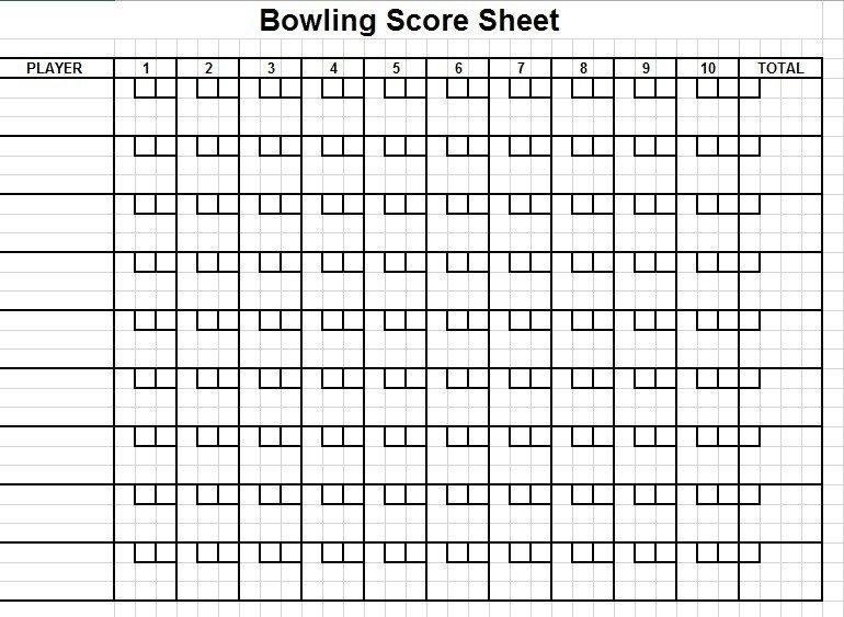 11 Free Sample Cricket Score Sheet Templates Printable