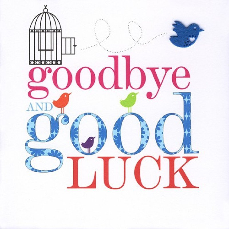 Farewell Good Luck Clipart Clipart Suggest