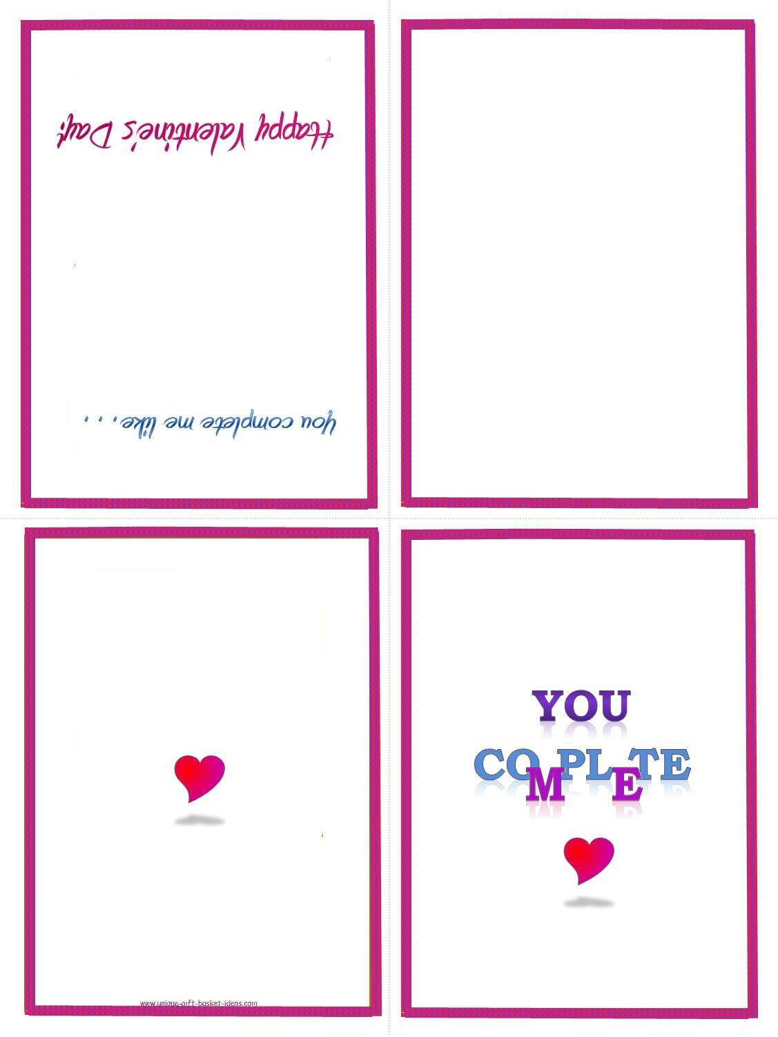 Printable Greetings Cards Templates Easy Homemade Gift Ideas Free Printable Gifts