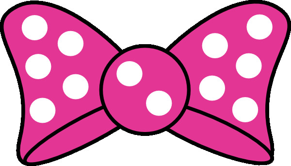 Printable Minnie Mouse Bow Minnie Bow Clip Art at Clker Vector Clip Art Online