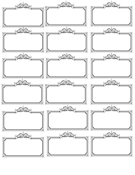 Printable Name Tag Template Name Tag Template Invites Illustrations